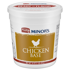 16 oz Container of Minor's Chicken Base