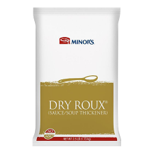 2.5 lb Container of Minor's Dry Roux Sauce/Soup Thickener