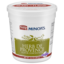 12.8 oz Container of Minor's Herb De Provence Flavor Concentrate