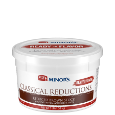 3 lb Tub of Minor's Reduced Brown Stock