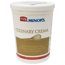 5 lb Container of Minor's Culinary Cream