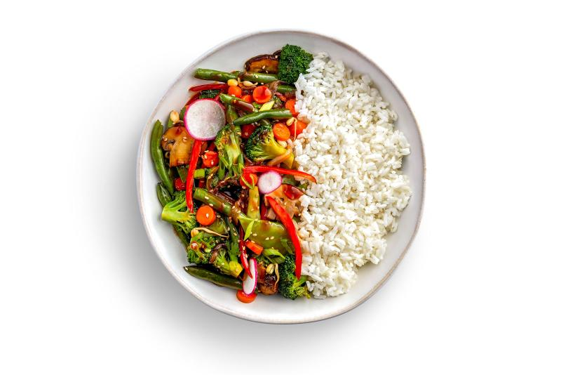 A Plate of Stir Fry