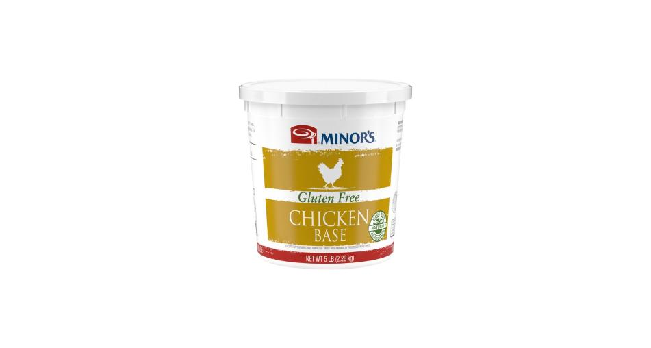 5 lb container of Minor's Gluten Free Chicken Base