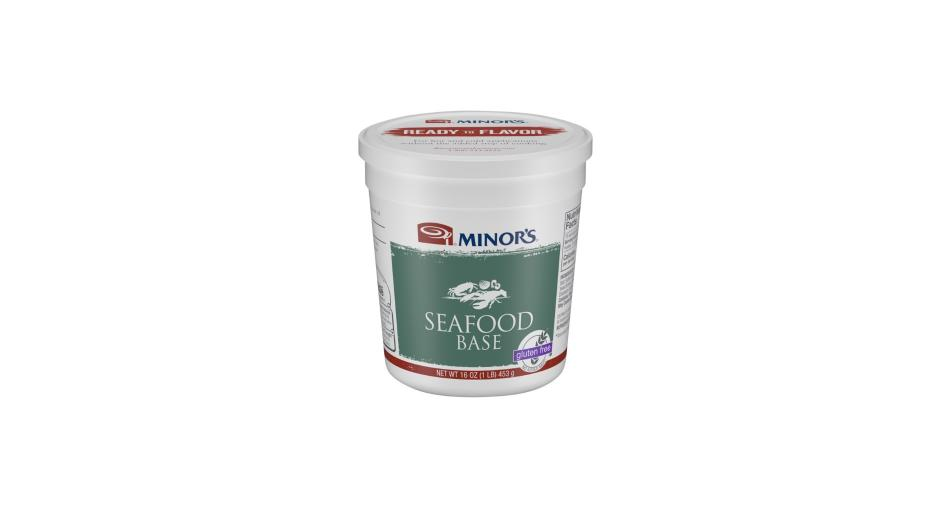 16 oz container of Minor's Seafood Base