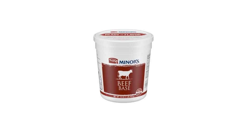 16 oz container of Minor's Beef Base