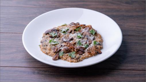 Steel Cut Oatmeal Risotto